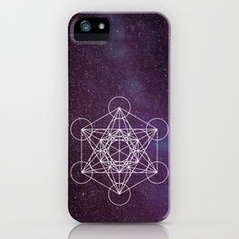 Star of Metatron iPhone Case