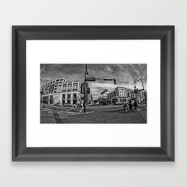 Central  Framed Art Print