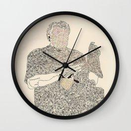 ol d friends Wall Clock