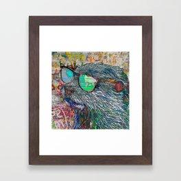 Otter Bro Framed Art Print
