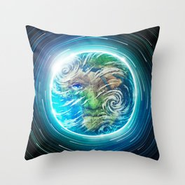 Earth II Throw Pillow