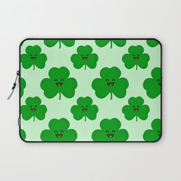 Happy Shamrock Laptop Sleeve