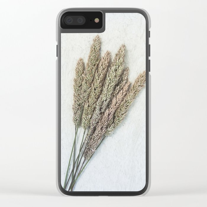 Summer Grass III Clear iPhone Case