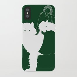 Mother of Wolves iPhone Case