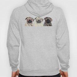 Triple Pugs Hoody
