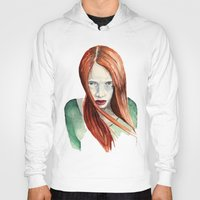ginger Hoodies featuring Ginger by Roxie Emm