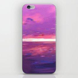 Sunset San Pedro - purple sky iPhone Skin