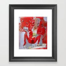 no glove Framed Art Print