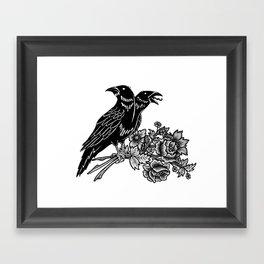 The Ravens Framed Art Print