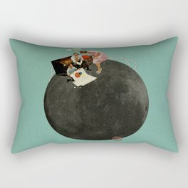 Life on Earth | Collage Rectangular Pillow