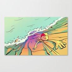 Climb That Mountain Canvas Print