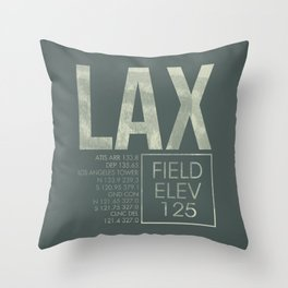 LAX II Throw Pillow
