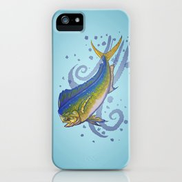 Mahi Mahi ~ Coryphaena hippurus ~ (Copyright 2015) iPhone Case