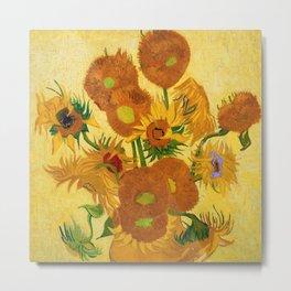 Sunflowers by Van Gogh Metal Print