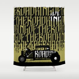 Signs of Faith - King of the Road Shower Curtain