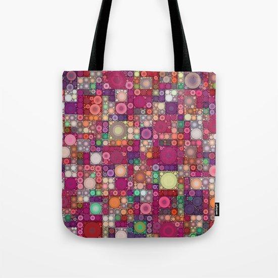 Bubble Quilt Tote Bag