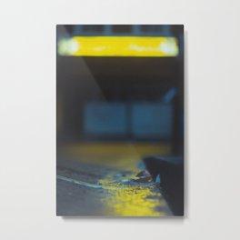 London Curb Metal Print