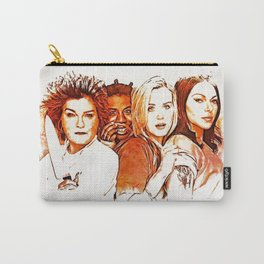 Red, Crazy, Piper, Alex Carry-All Pouch