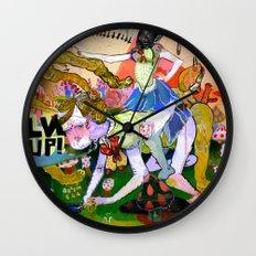 lvl up Wall Clock