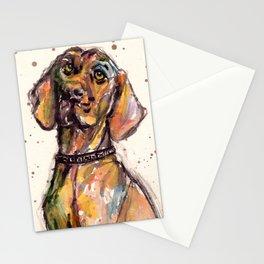 Hungarian Vizsla Dog Closeup Stationery Cards