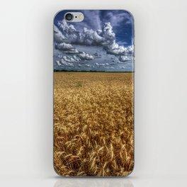 Amber Waves Of Grain iPhone Skin