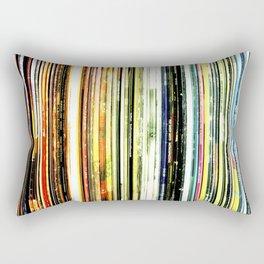 a rainbow of records! Rectangular Pillow