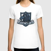 quidditch T-shirts featuring Hogwarts Quidditch Teams - Ravenclaw by Deadround