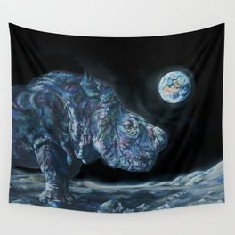 Sudan on the Moon Wall Tapestry