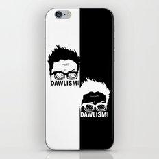 Dual Dawlism iPhone & iPod Skin