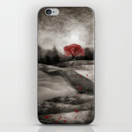 The red sounds and poems, Chapter I iPhone Skin