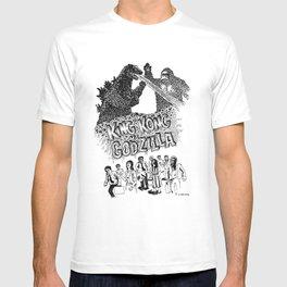 Godzilla .vs. King Kong T-shirt