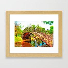 Wonka Bridge Framed Art Print