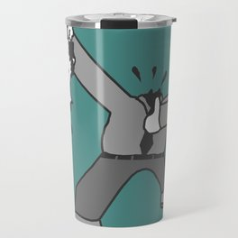 AHEAD OF THE GAME, OR SOMETHING LIKE THAT.... Travel Mug