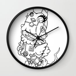 niwatori [Chicken] Wall Clock