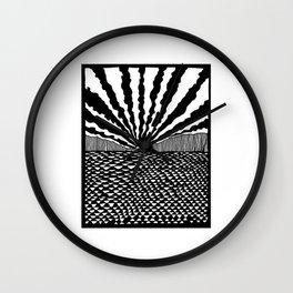 Melanie's Sunset Wall Clock
