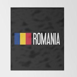 Romania: Romanian Flag & Romania Throw Blanket