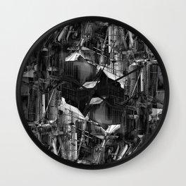 Post-Modern Industrial Complex:  The Art of Regressing Wall Clock