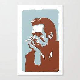 Vodka Melancholy Nick Cave Canvas Print