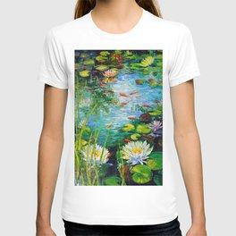 Mesmerizing pond T-shirt