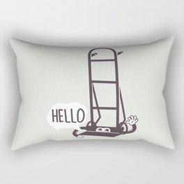 Hello Dolly Rectangular Pillow