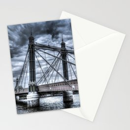 The Albert Bridge London  Stationery Cards