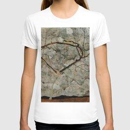 "Egon Schiele ""Autumn Tree in Stirred Air (Winter Tree)"" T-shirt"