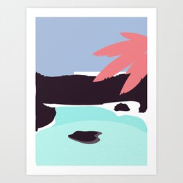 Jameos  del Agua Art Print