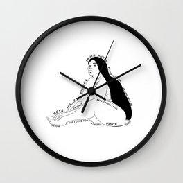 Lizzo. Cuz I Love You Wall Clock