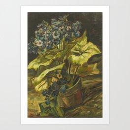 Vincent van Gogh - Cineraria Art Print