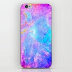 Orion nebulA : Bright Pink & Aqua iPhone & iPod Skin