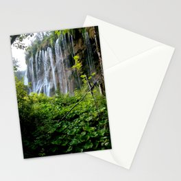 Plitvice Falls Stationery Cards