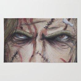 Zombie Fan Art Rug