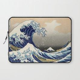 Katsushika Hokusai, The Great Wave off Kanagawa, 1831 Laptop Sleeve