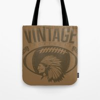 sports Tote Bags featuring Vintage sports by Tshirt-Factory